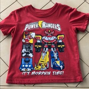 Power Rangers Graphic T Shirt Size 4T